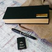 Подарочный набор ручка Parker и зажигалка Zippo