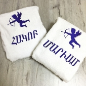 Комплект из двух халатов
