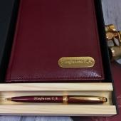 Набор ежедневник + ручка в подарочной коробке