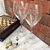 Пара винных бокалов