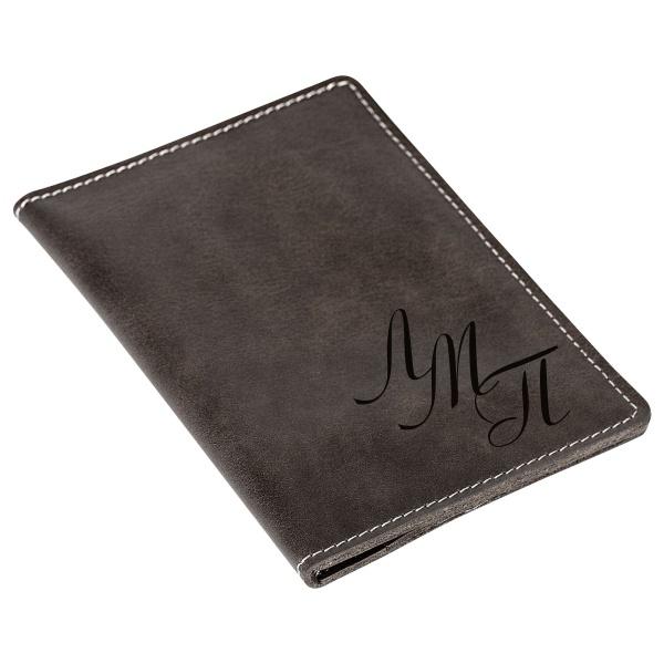 Бумажник для документов с гравировкой «Driver grey» - 1