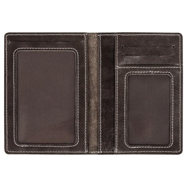 Бумажник для документов с гравировкой «Driver grey» - 4