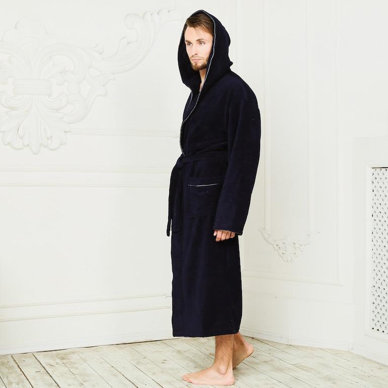 Бамбуковые халаты с вышивкой