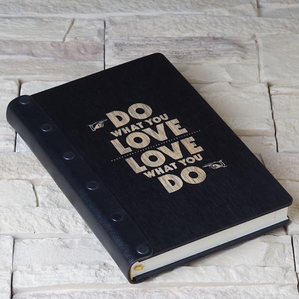 d901d1249 Деревянный дизайнерский ежедневник с гравировкой. Арт. AEG-16. Цена: ...