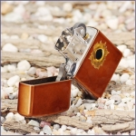 Зажигалка ZIPPO Bullet с покрытием Toffee™, Пуля