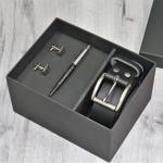 Подарочный набор мужских аксессуаров с персональной гравировкой Шамблес