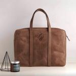 Кожаная сумка с персональной гравировкой Таормина