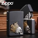 Зажигалка ZIPPO Classic с покрытием Black Matte