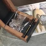 Подарочный набор стакан для виски и ручка Parker Макассар
