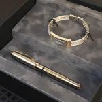 Подарочный набор браслет и ручка с гравировкой Sparta