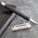 Ручка из серебра 925 пробы с гравировкой Маэстро