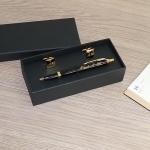Подарочный набор ручка Parker и запонки с гравировкой Дипломат