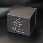 Подарочная коробка для стаканов с гравировкой