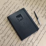 Ежедневник в мягкой обложке с гравировкой Travel