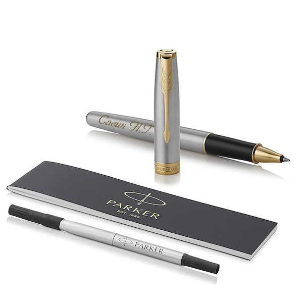 Ручка роллер Parker Sonnet , Stainless Steel GT